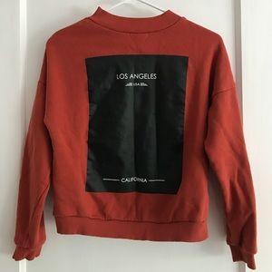 H&M Burnt orange LA sweater